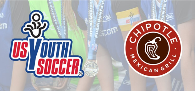 Chipotle New USYS Official Partner