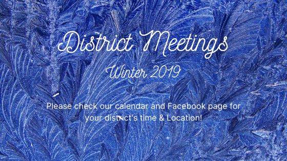 2019 District Meetings