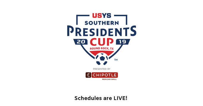 Presidents Cup Schedules