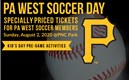 PA West Soccer Night at PNC Park