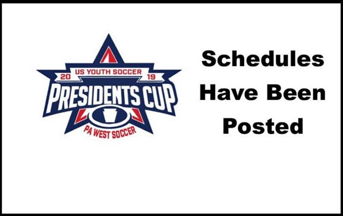 2019 Presidents Cup Schedules