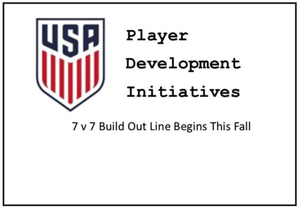 7 v 7 Build Out Line Begins