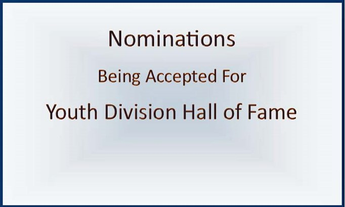 Hall of Fame Nominations Being Accepted
