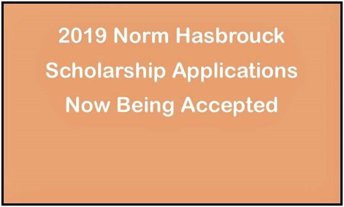 Hasbrouck Scholarship Apps Being Accepted
