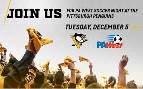 PA West Soccer Night at Penguins