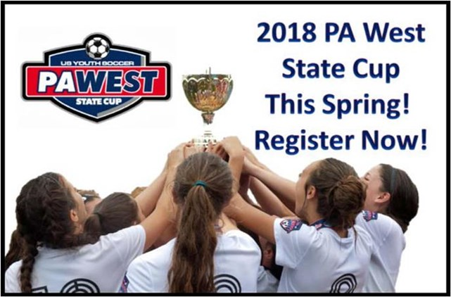 2018 State Cup Registration Open