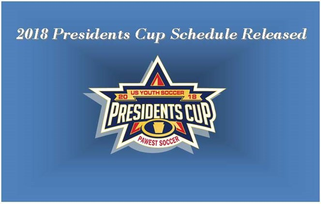 2018 Presidents Cup Schedule Released