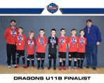 Dragons U11B finalist