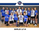 Girls U14 both