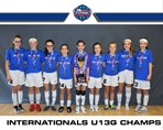 Internationals U13G champs