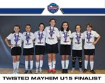 Twisted Mayhem U15G finalist