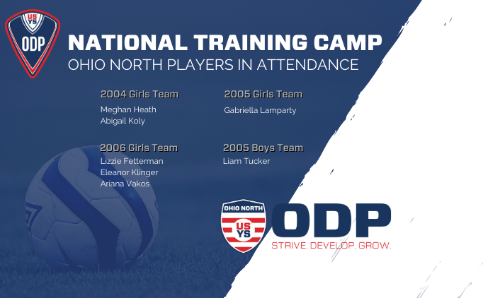 ODP National Training Camp is Here