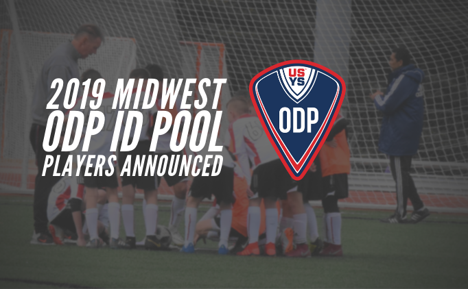 2019 Midwest ODP ID Pool Players Announced