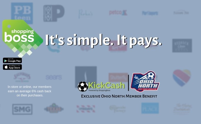 Ohio North KickCash Exclusive Member Benefit