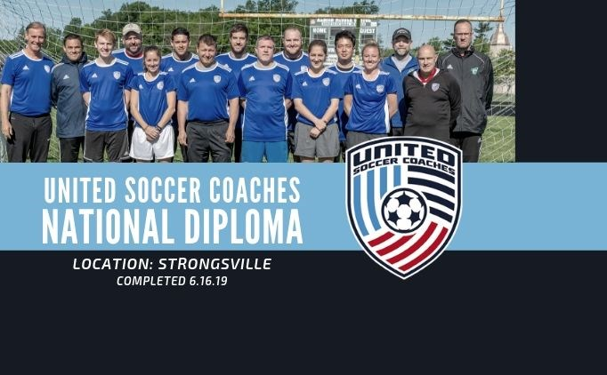 United Soccer Coaches National Diploma Completed