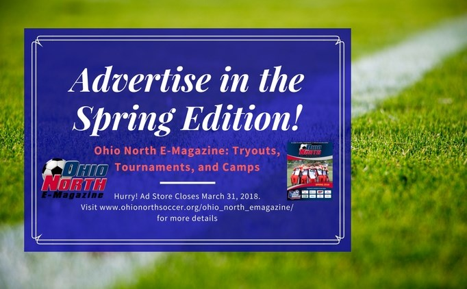 Advertise for the Spring Edition of the E-Mag