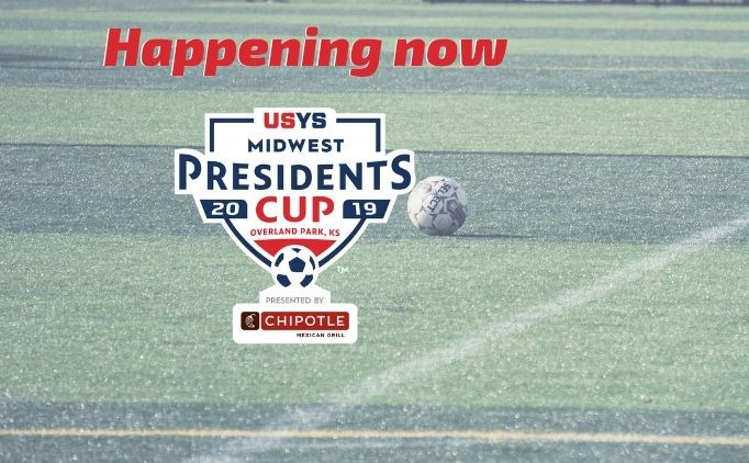 USYS Midwest Presidents Cup is Underway