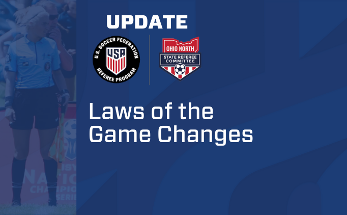 Laws of the Game Changes Effective Spring 2020