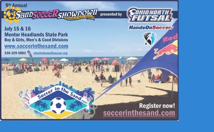 Register Now for Sand Soccer Showdown