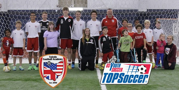 TFA and TOPSoccer...A Perfect Match!