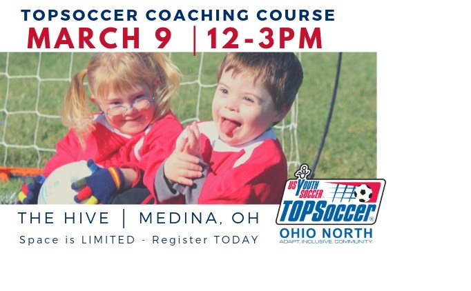 TOPSoccer Course in Medina