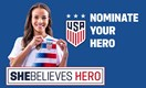 2019 #SheBelieves Hero Contest
