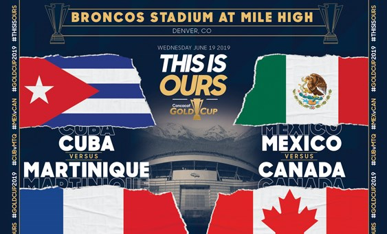 TICKETS: Gold Cup is coming to Denver