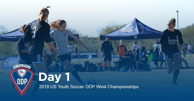 Recap Day 1: 2019 US Youth Soccer West ODP...