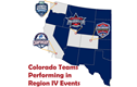 Colorado Teams Perform Well in Region IV Events