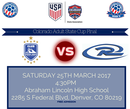 COLORADO ADULT STATE CUP FINAL