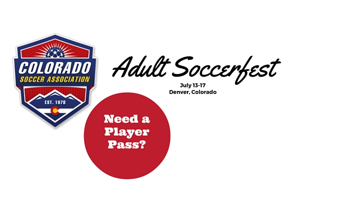 Adult Soccerfest Tournament: July 13-17 in...
