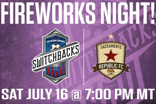Fireworks Night with the Switchbacks!