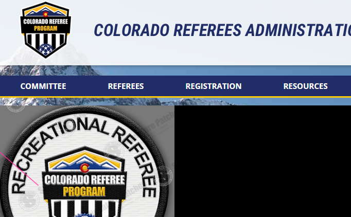 New Colorado Referee Program Website Now LIVE!
