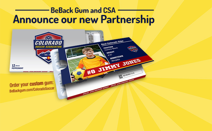 CSA and BeBack Gum Partner to promote soccer...