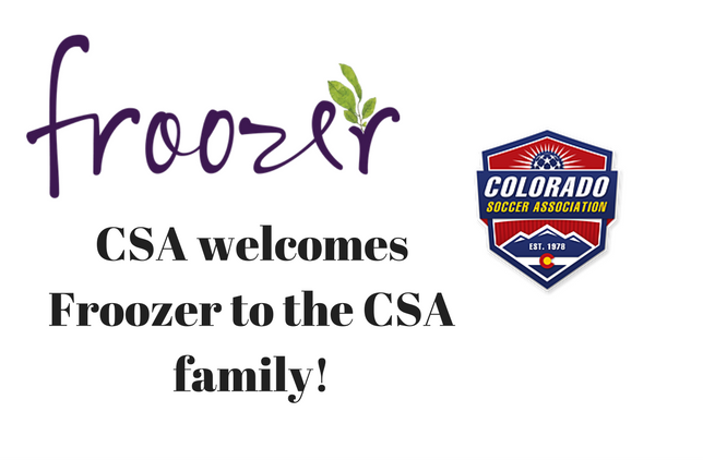 Froozer and Colorado Soccer Association...