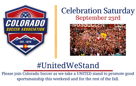Celebration Saturday is September 23rd