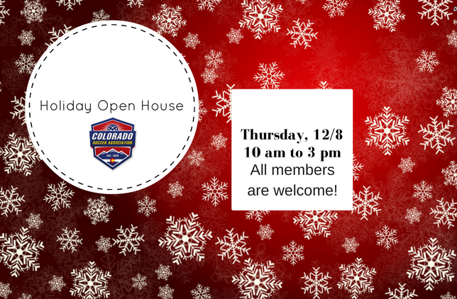 CSA Holiday Open House: December 8 10 am to 3 pm