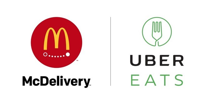 McDonald's Available on UberEATS
