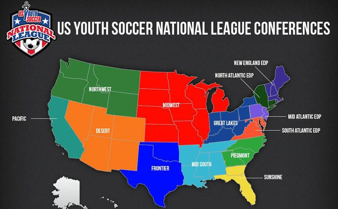 US Youth Soccer New England EDP