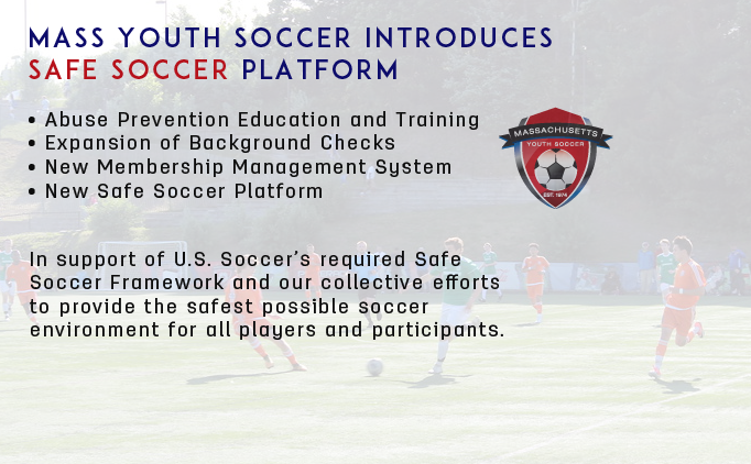 Mass Youth Soccer Introduces Safe Soccer...