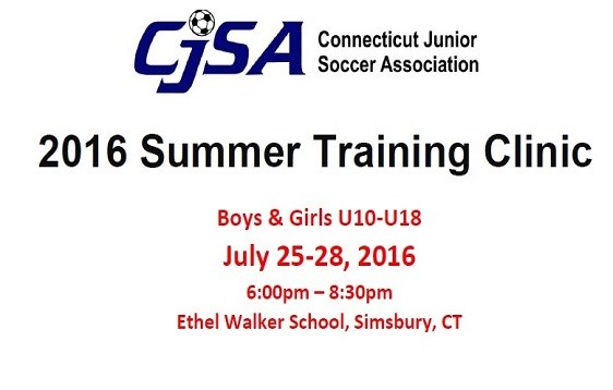 2016 Summer Training Clinic