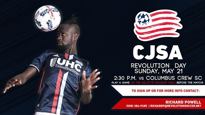 CJSA Day at NE Revolution Game