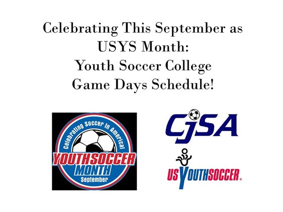College Youth Soccer Game Days