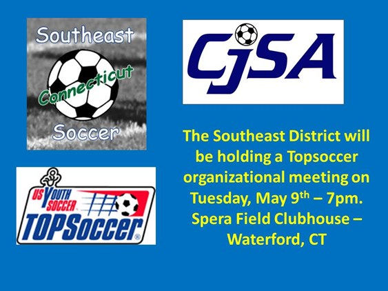 Topsoccer Meeting - Southeast District