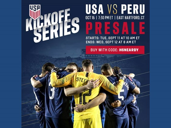 The USMNT Is Coming To Connecticut