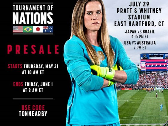 USWNT Is Coming to CT!