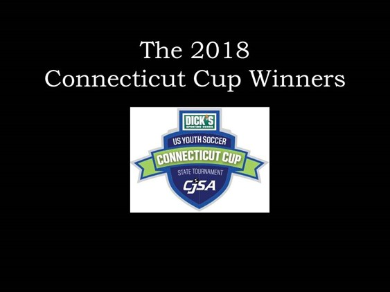 2018 Connecticut Cup Winners