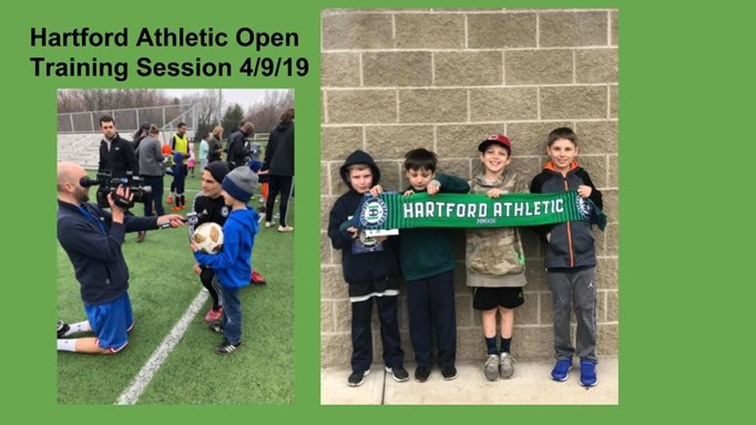 Hartford Athletic Open Training Session