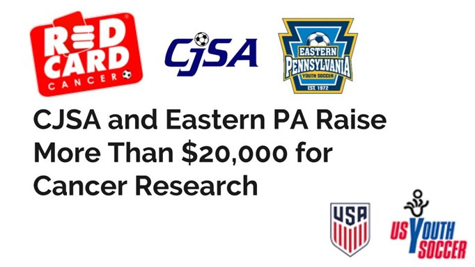 CJSA & Eastern PA Raise Over $20,000 for Cancer