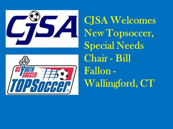 CJSA Welcomes New Topsoccer Special Needs Chair